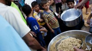 الوضع الإنساني في سوريا