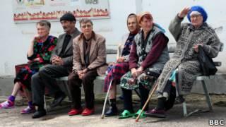 Таджикские пенсионеры