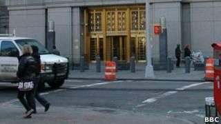 Здание федерального суда в Манхэттене