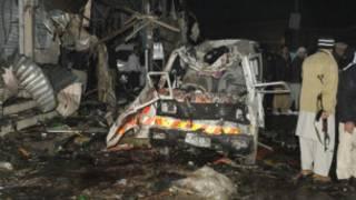 Fashewar bam a Quetta
