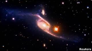 Спиральная галактика NGC-6872
