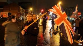 Протесты в Белфасте