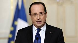 Shugaba Francois Hollande na Faransa