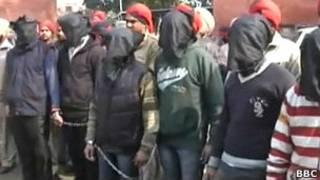 Подозреваемые в изнасиловании в Пенджабе