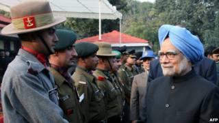 Perdana Menteri India, Manmohan Singh.