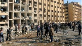 Jami'ar Aleppo, bayan harin