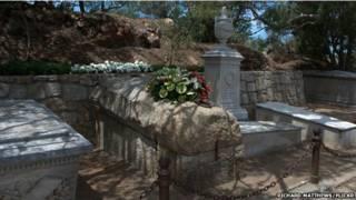 La tumba de Giuseppe Garibaldi
