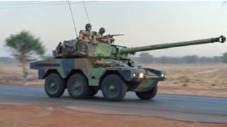 Soldados franceses en Mali