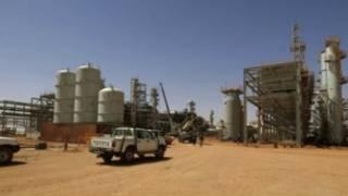 Masana'antar haƙar iskar gas a Algeria