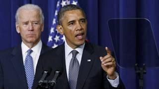 Obama da mataimakinsa Biden