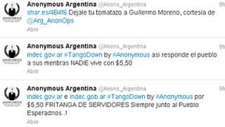 Twitter de Anonymous Argentina