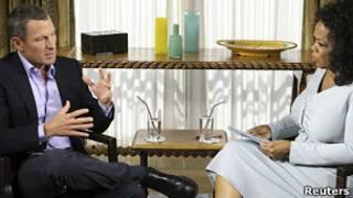Лэнс Армстронг в телешоу Опры Уинфри