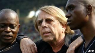 Kocha Claude LeRoy wa DRCongo