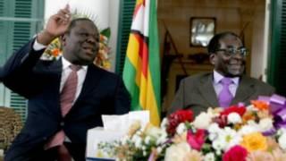 Bwana Tsvangirai na Rais Mugabe