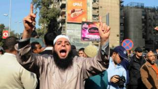 islamist protest in egypt