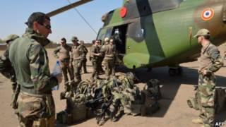 Французские подразделения в Мали