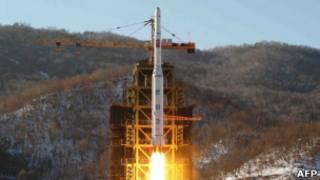 Запуск ракеты в декабре