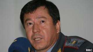 Министр внутренних дел Таджикистана Рамазан Рахимов