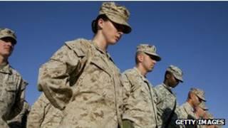 us female soldier