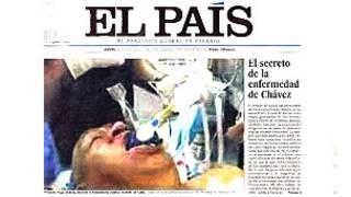 Номер El Pais c фальшивым фото
