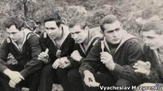 Вячеслав Мазуренко с сослуживцами