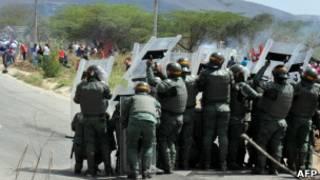 Бунт в тюрьме в Венесуэле
