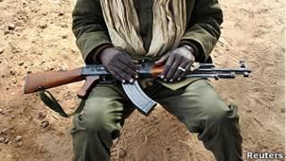 Soldado de Mali