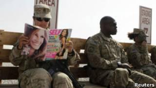 Женщины в армии Пентагона