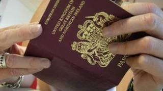 İngiliz pasaportu