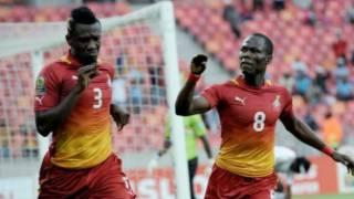 Wasu 'yan wasan kasar Ghana