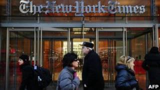 Редакция газеты New York Times