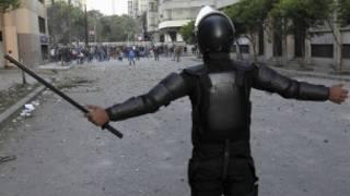 الشرطة في القاهرة