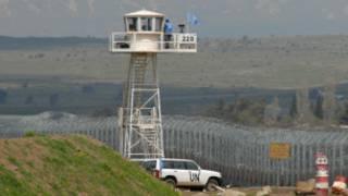 На границе Израиля с Сирией