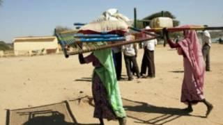 نزوح في دارفور