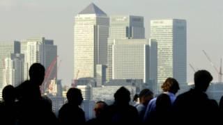 Офисные работники в Лондоне