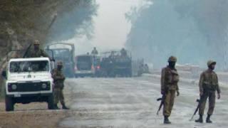 پشاور میں تشدد کے بعد ایک فائل فوو