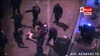 Избиение египтянина в Каире
