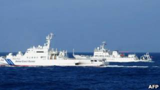 Kapal Jepang dan Cina