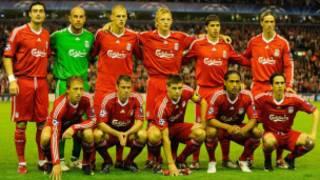 'Yan wasan Liverpool