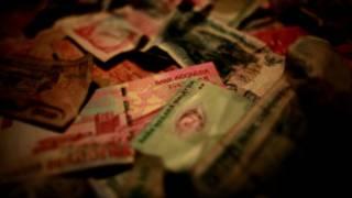 Uang yang disita dari skandal pengaturan hasil pertandingan