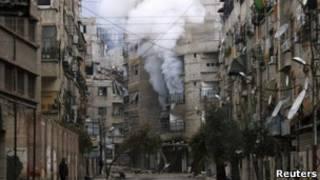 Повстанцы пытаются захватить подступы к центру Дамаска