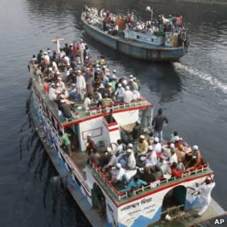 عبارة مزدحمة في بنغلاديش