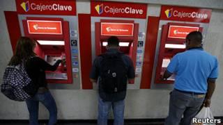 Cajero en Venezuela