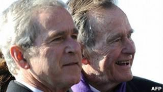 Los expresidentes Bush