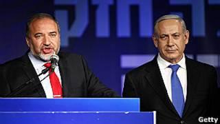 وزير الخارجية الإسرائيلي السابق أفيجدور ليبرمان