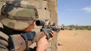 القوات الفرنسية في شمال مالي