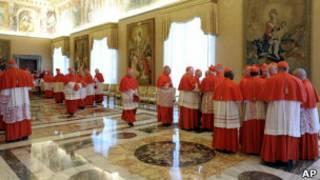 Кардиналы в Ватикане