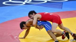 مصارعة حرة في اولمبياد لندن