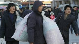中国城市中的贫富