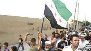 'Yan adawar Syria a Qatar